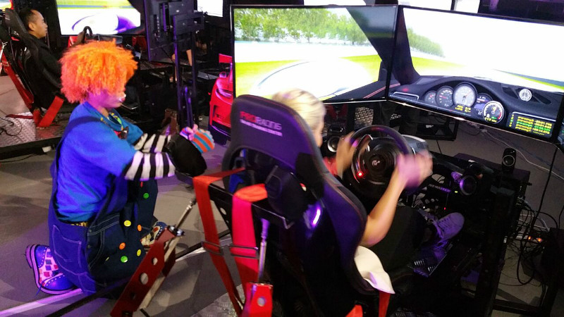 ProRacing Simulator with Porsche